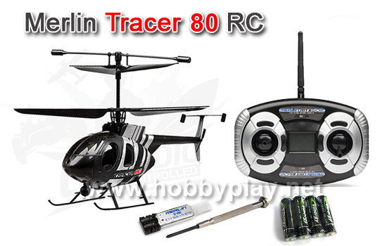 tracer 80 coaxial 2 4ghz rtf