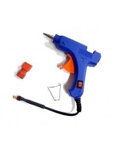Pistola Pegamento Silicona...