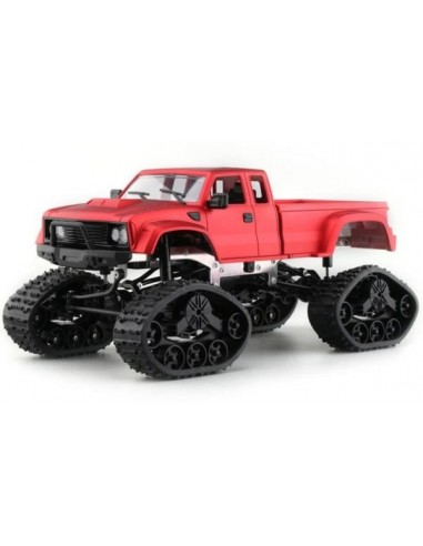 Coche Rock Crawler Pick Up Oruga 4WD...