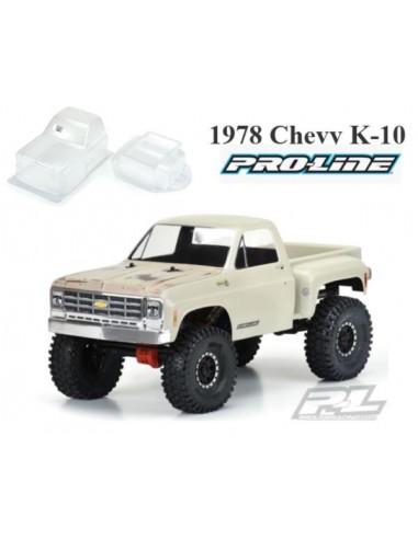 1978 Chevy K-10 Clear Body (Cab &...