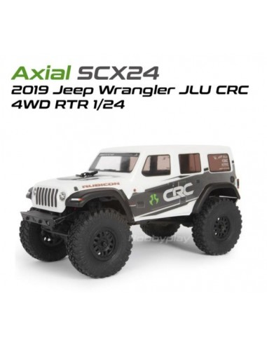 SCX24 2019 Jeep Wrangler JLU CRC Rock...