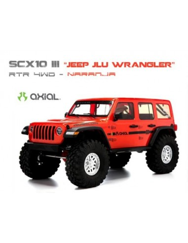 """Axial SCX10 III """"Jeep JLU Wrangler""""..."""