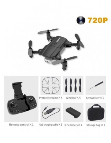 Mini Dron plegable con Hold Altitude...