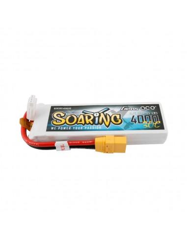 Batería LiPo Soaring 4000mAh 11.1V...