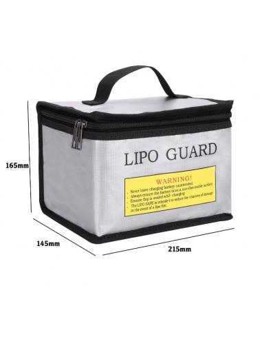 Bolsa ignifuga para guardar baterías...