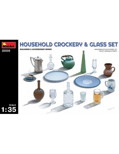 MiniArt Household Crockery & Glass...