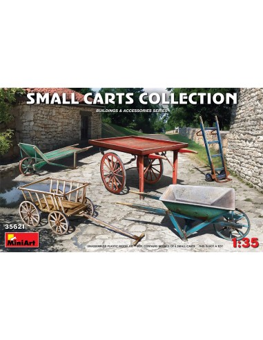 MiniArt Small Carts Collection 1/35