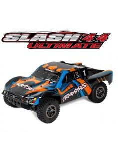 Slash 4x4 Ultimate LCG TSM Traxxas  68077-4  Orang