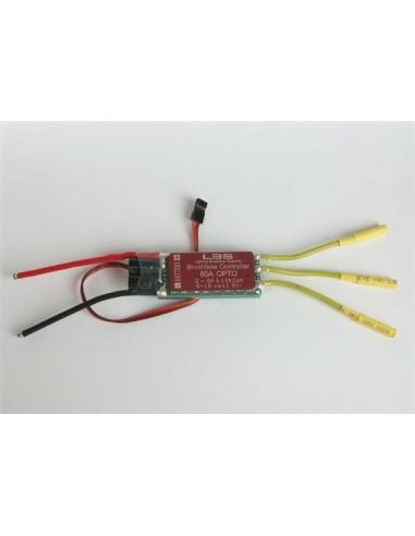 Variador ESC de LBS de 80 Amp. OPTO.