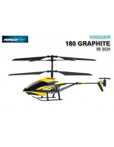NH90072 Ninco Air 180 GRAPHITE IR 3CH