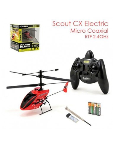 Blade Scout RTF 2.4Ghz 3 Canales