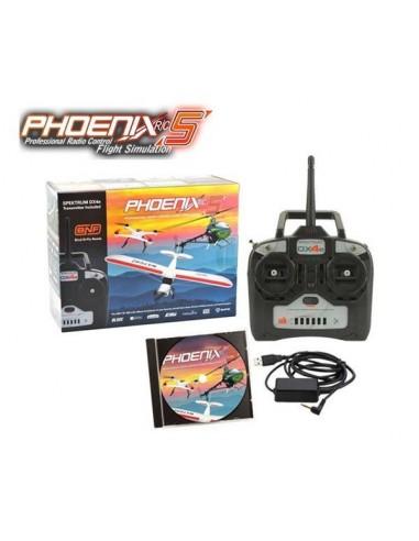Simulador Phoenix V.5 + Spektrum DX4E
