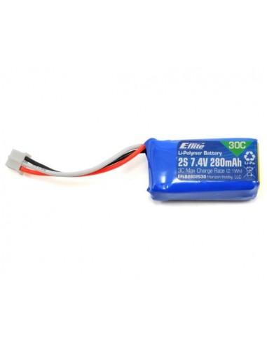 Batería LiPo 7.4V 280mAh 2S 30C