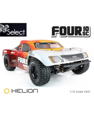SELECT FOUR 10SC 4WD Brushless Short...