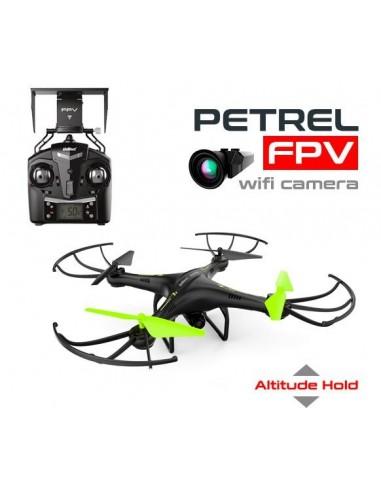 Drone PETREL FPV - Negro/Verde