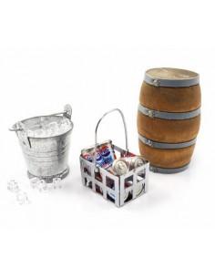 Combo Ice Bucket & Ice,Coke...