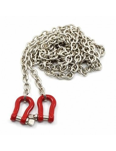 Long Chain 96cm with Buckle Red Rock...