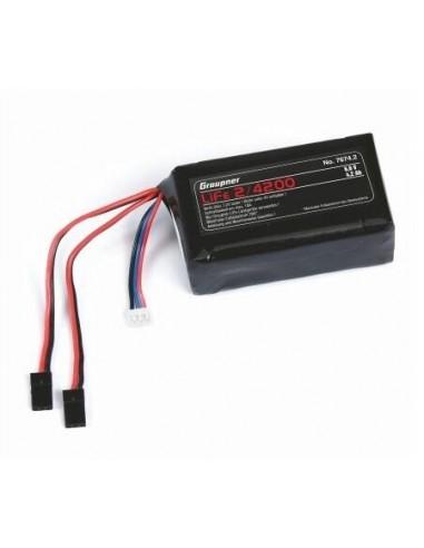Batería LiFe 2/4200 6,6 V JR.