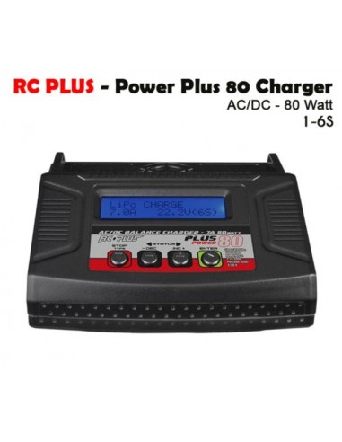 Rc Plus - Power Plus 80 Charger -...